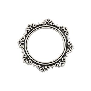 Picture of Antique Silver Circle Frame